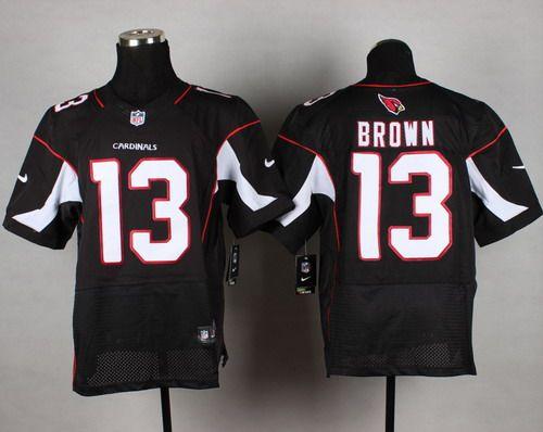 d84d8b6d8 Nike Cardinals Jaron Brown Black Alternate Men s Stitched NFL Elite Jersey