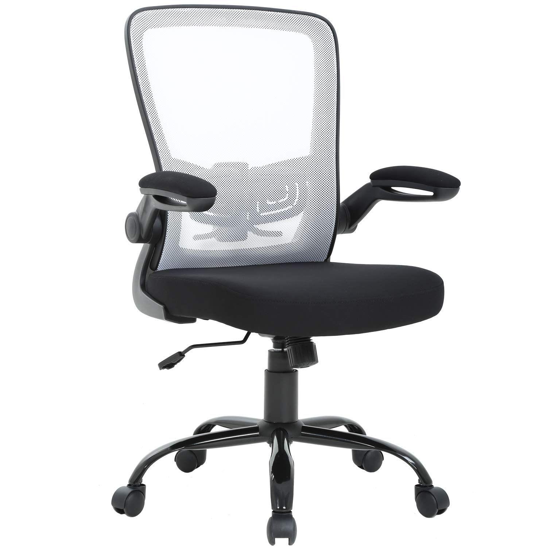 Mid Back Office Chair Ergonomic Desk Chair Mesh Computer Chair