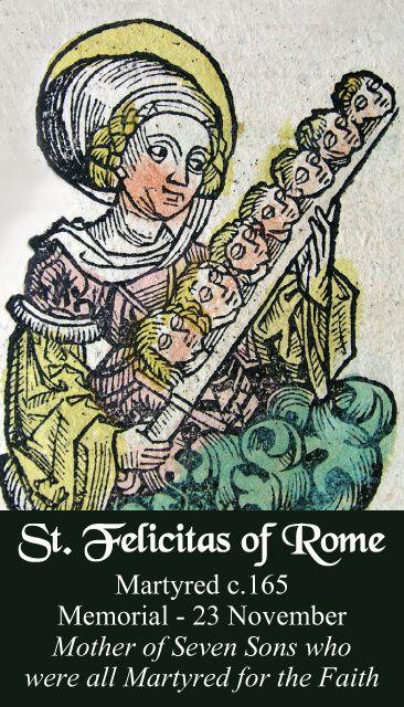 St. Felicitas