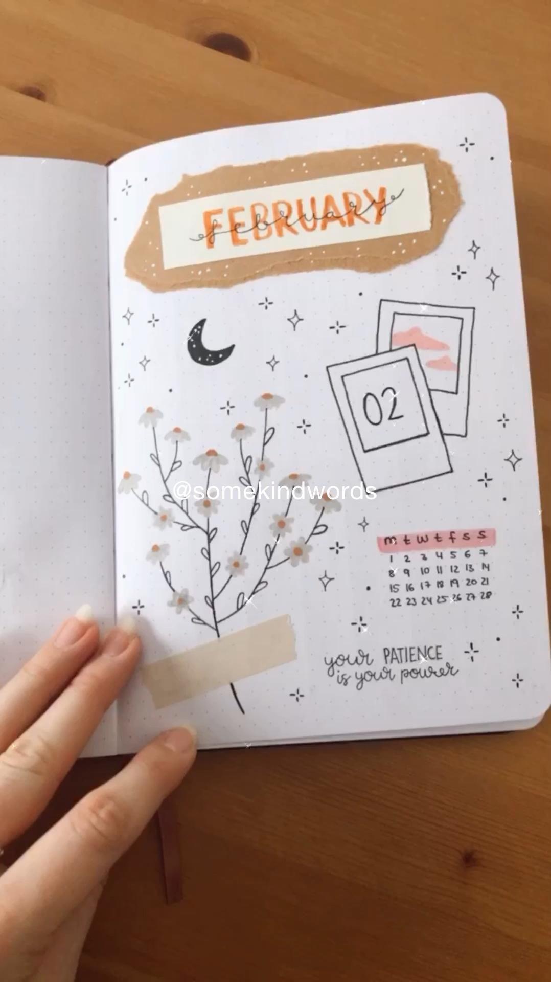 Weekly flipthrough 🌸 my bullet journal @somekindwords