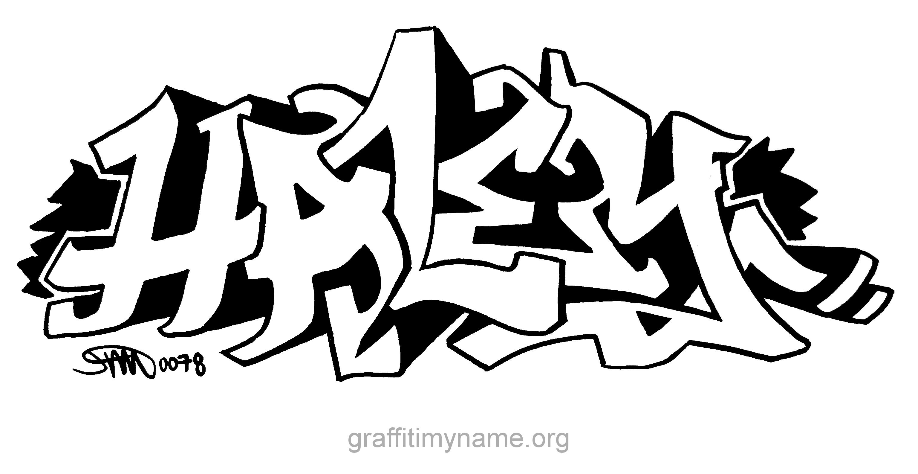 Haley Graffiti My Name