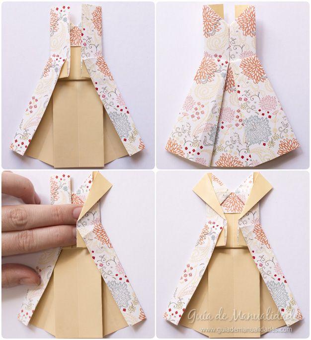 Vestidos De Origami Paso A Paso Origami Vestidos Origami