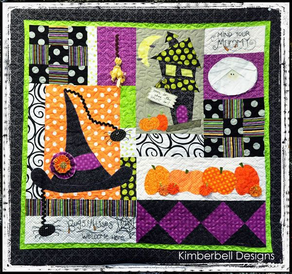 Home Is Where The Haunt Is Love This Halloween Quilt
