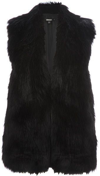 DKNY Sleeveless Jacket