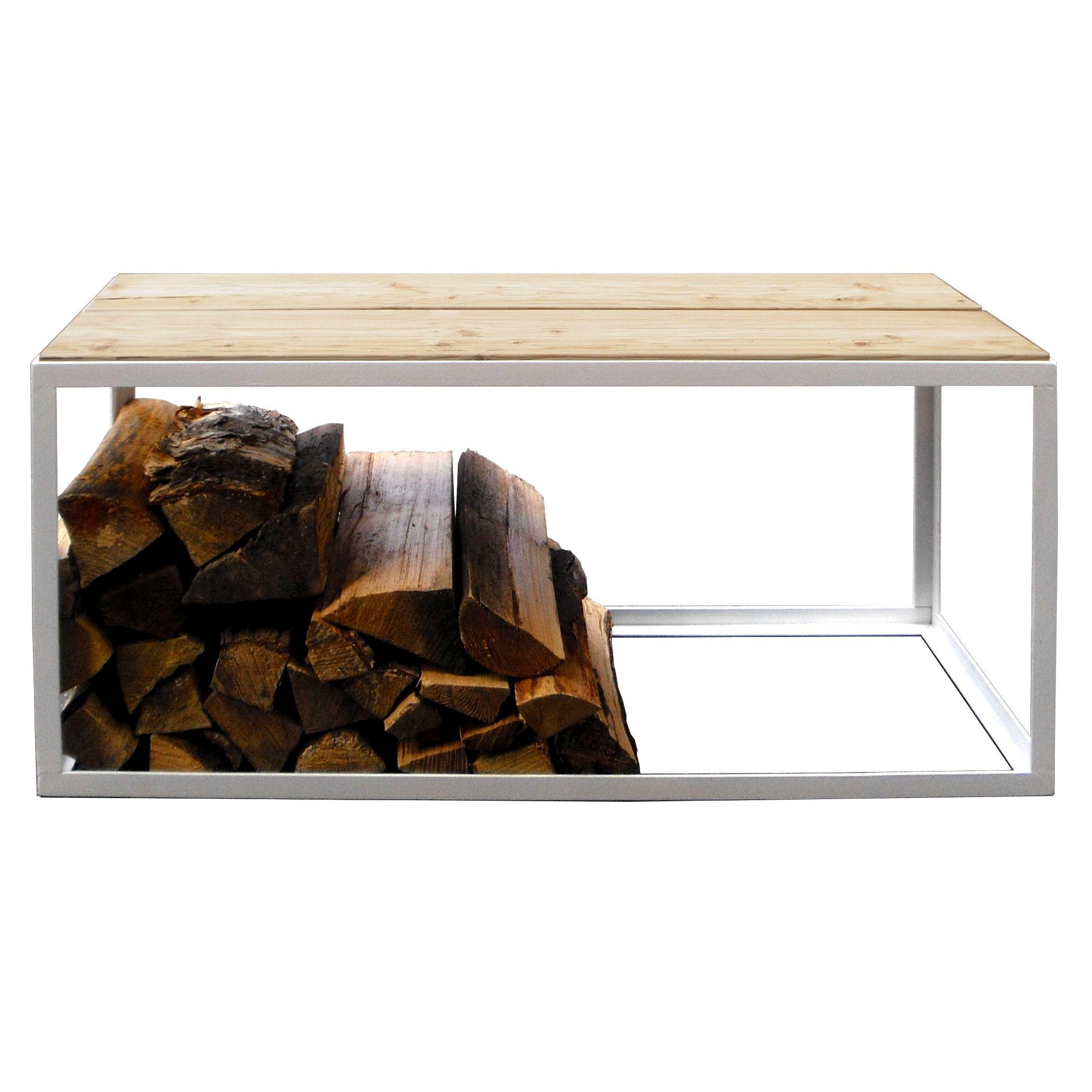 brennholz bank scheitestapler neben kamin und ofen - Bcherregal Ideen Neben Kamin