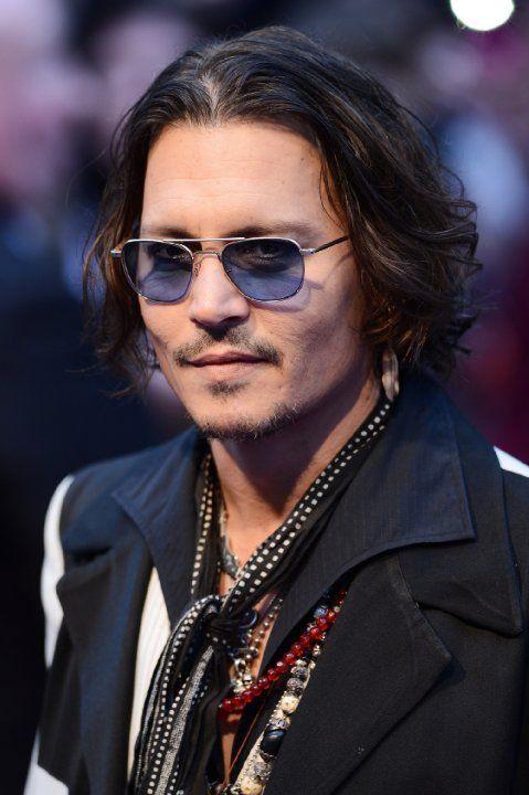 Johnny Depp at Dark Shadows (2012)