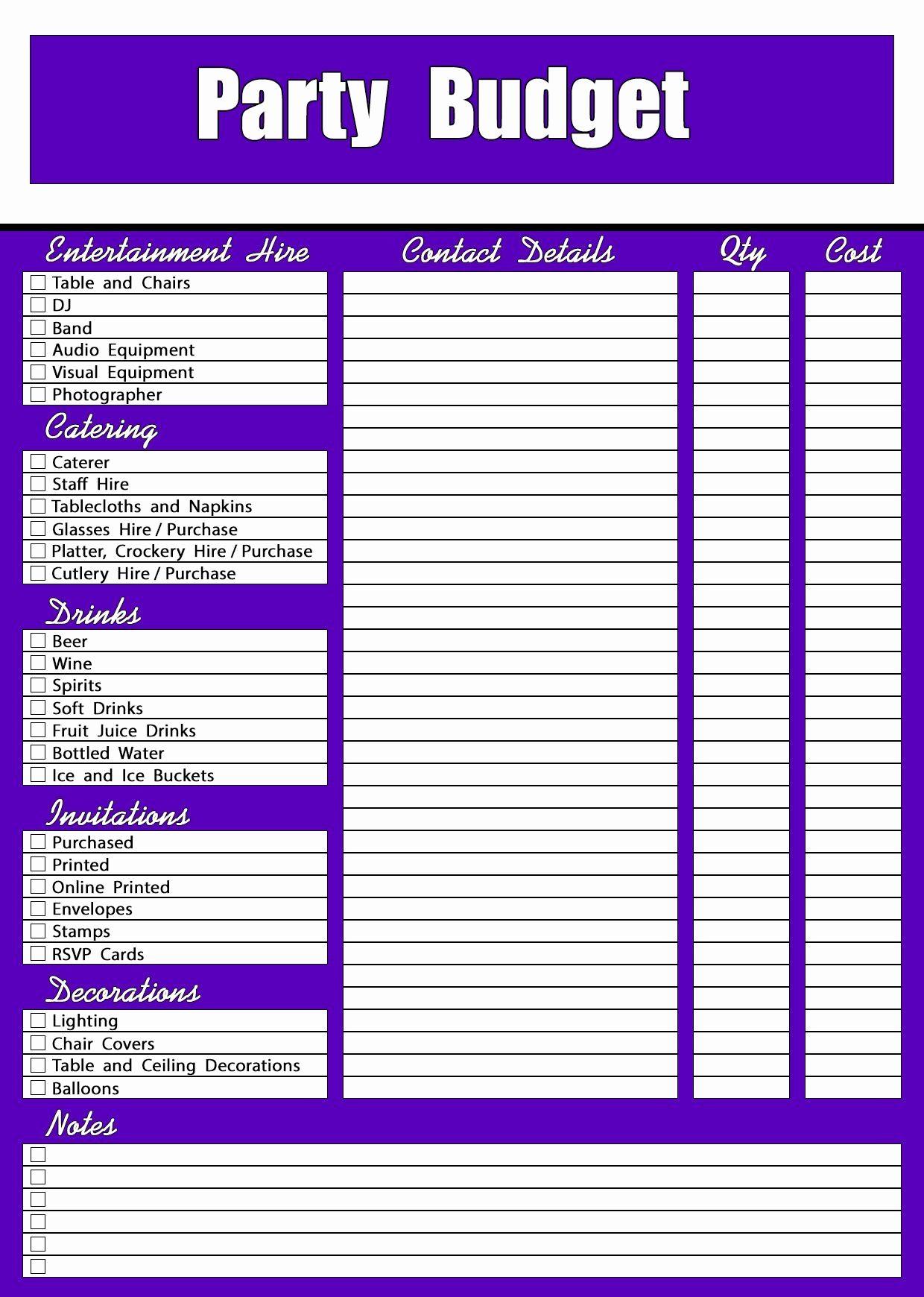Budget Worksheet PDF, Excel Template Budgeting worksheets