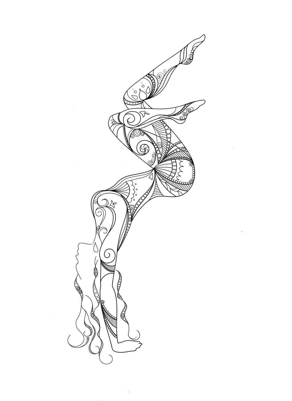 This Item Is Unavailable Etsy Yoga Art Yoga Tattoos Yoga Drawing
