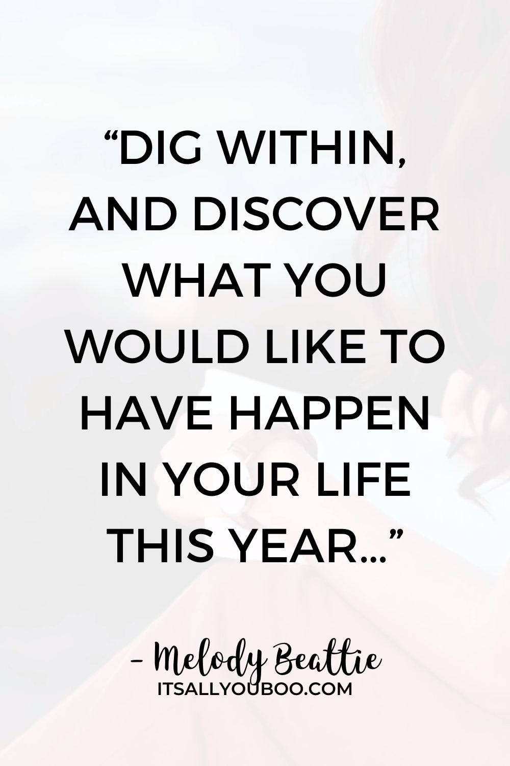Discover What You Want in the New Year
