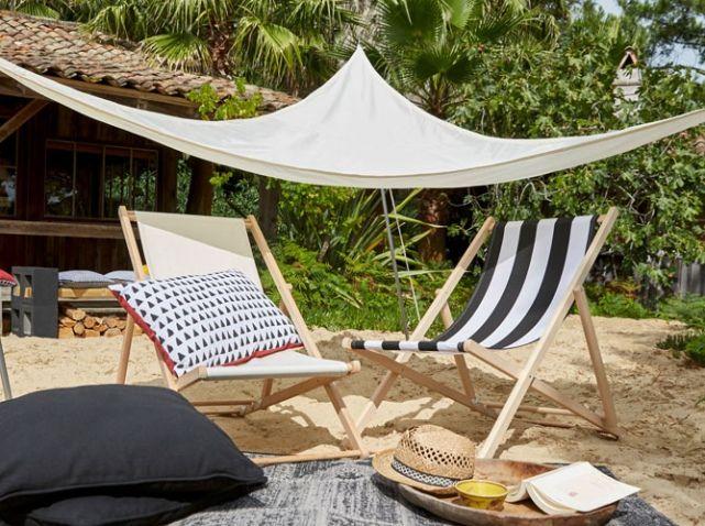 La Collection Jardin 2016 Castorama Voile Ombrage Chaise Exterieur Terrasse Arriere