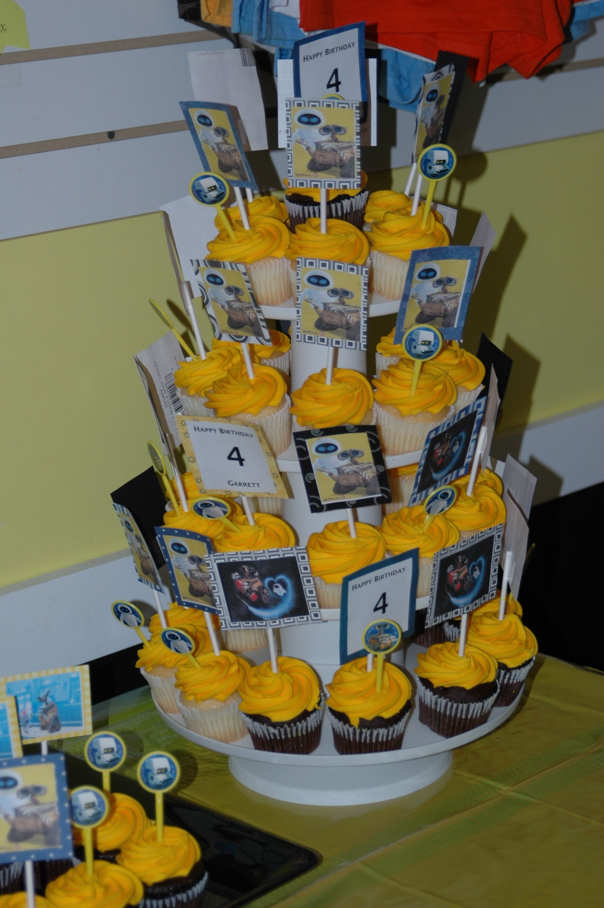 Wall E birthday party Party Ideas Pinterest Birthdays Walls