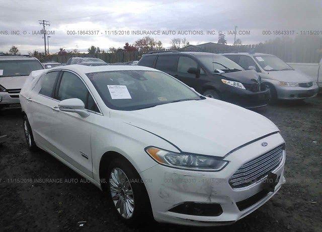 2014 Ford Fusion Vin 3fa6p0su6er133946 Odometer 36 307 Mi