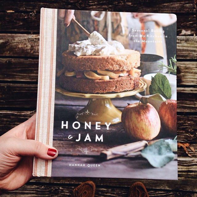 Featuring Hannah Queen's rich photography throughout, Honey & Jam not only showcases a collection of rustic desserts, but also captures the sprawling forests and farmlands of Blue Ridge, anchoring eac