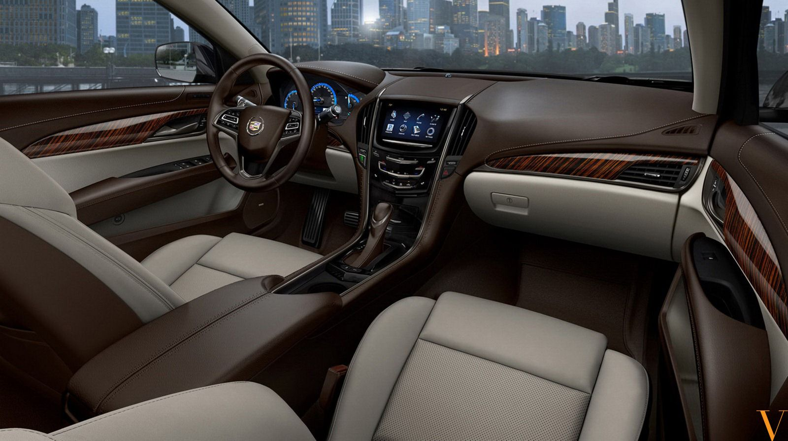 80u0027s Cadillac | Dark Striped Wood Contrasts The Stoney Grey Leather That  Makes The .. Luxury CarsMuscle ...