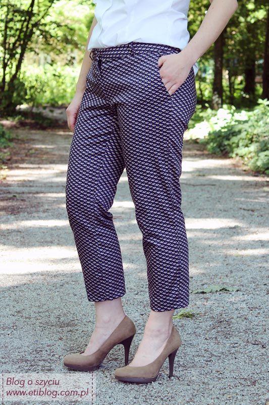 39de5f8c81c9c Jak uszyć spodnie cygaretki - eti blog o szyciu