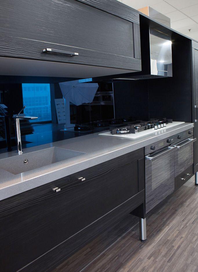 Tirador Rec para cocinas oscuras. Rec handle for dark kitchens ...