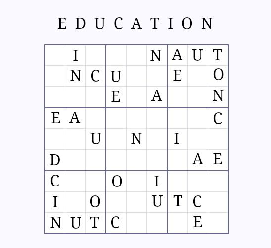 sudoku sans numbers education zen an easy level back to