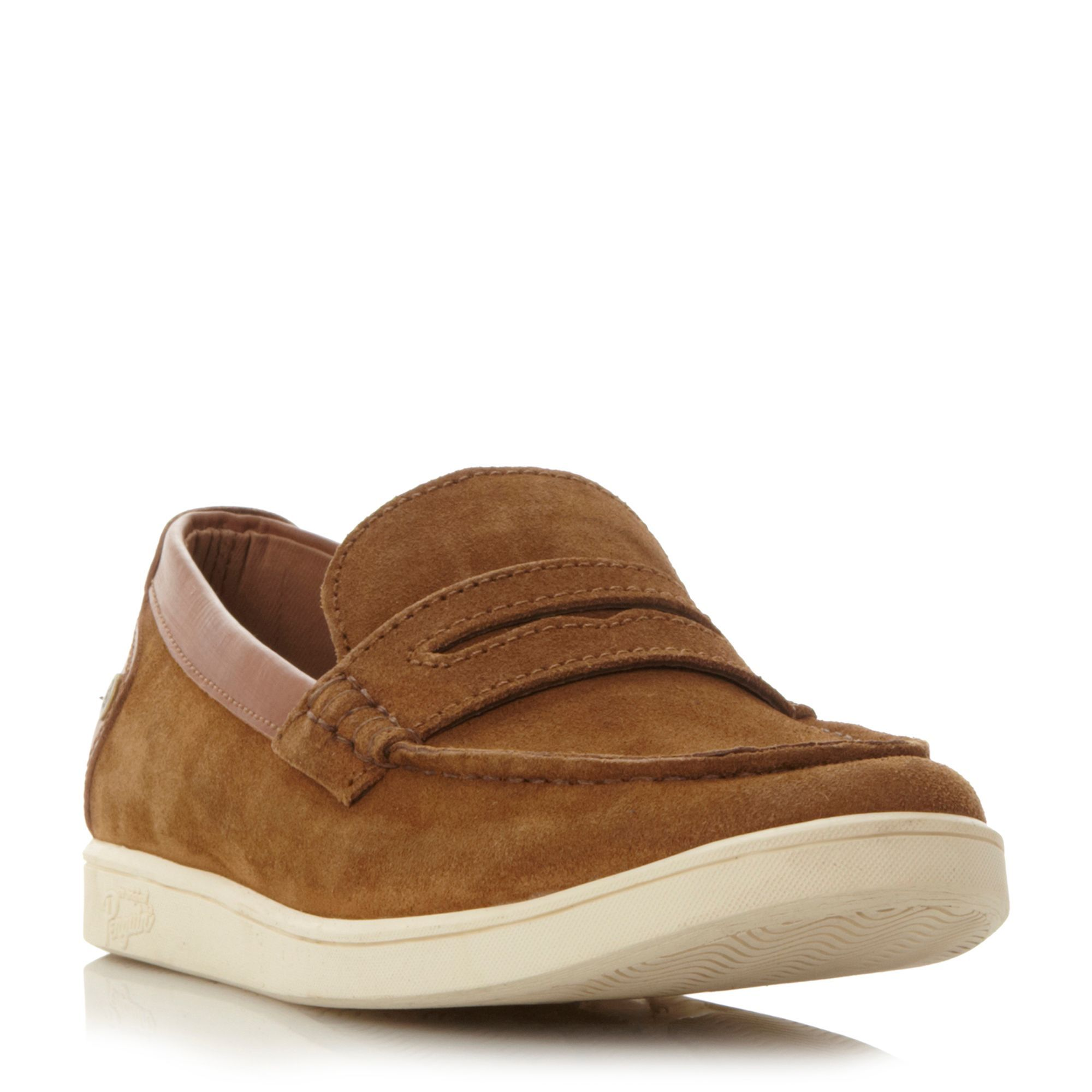 Original Penguin Laugh cupsole penny loafer, Tan