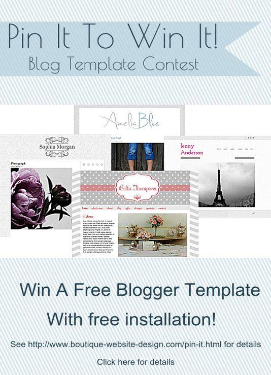 Would <3 to win! #boutiquewebsitedesign Pin It To Win It Boutique ...