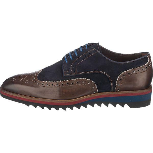 Sportlich schicke Flecs Freizeit Schuhe aus griffigem Echtleder. Das bestechende  Lochmuster sorgt für einen tollen e9d3f966c4