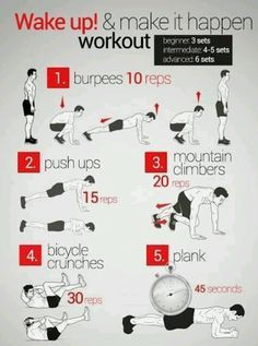 25 quick workouts  wake up workout at home workouts