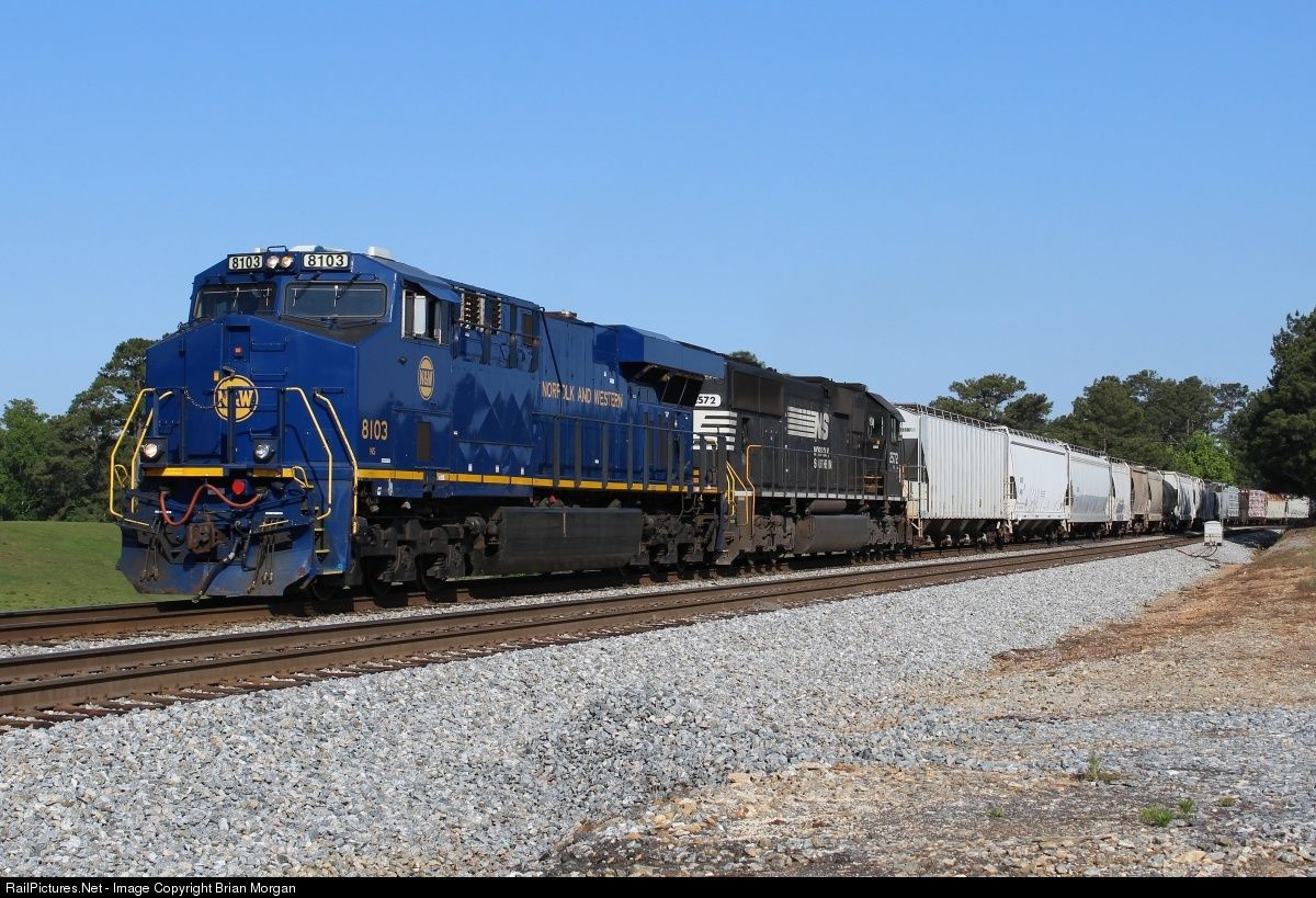 RailPictures.Net Photo: NS 8103 Norfolk Southern GE ES44AC at Tallapoosa, Georgia by Brian Morgan