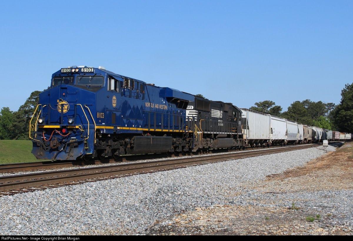 RailPictures.Net Photo: NS 8103 Norfolk Southern GE ES44AC at Tallapoosa, Georgia by Brian Morgan