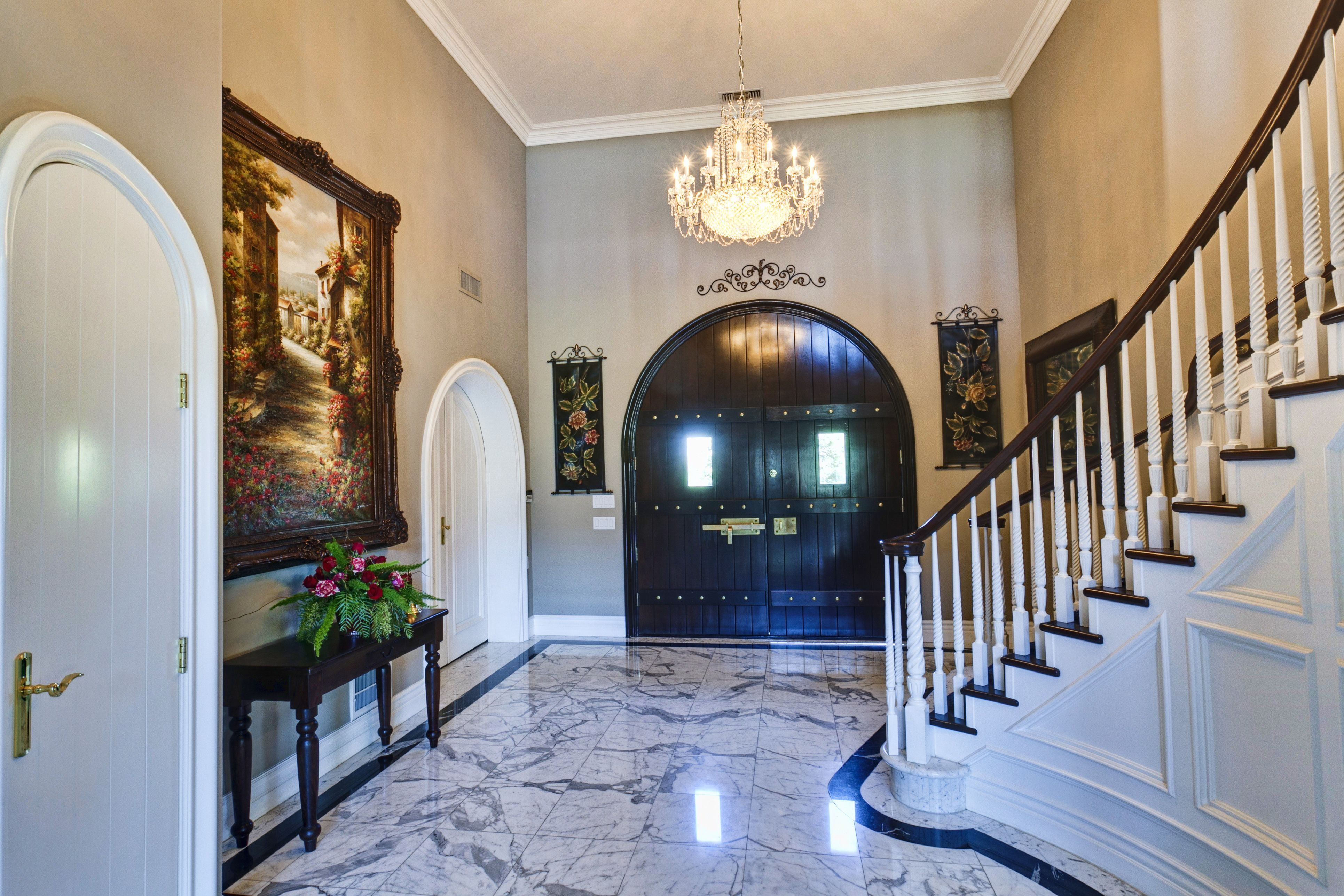 The Clovis Castle Foyer   Fairy tale wedding, Wedding ...