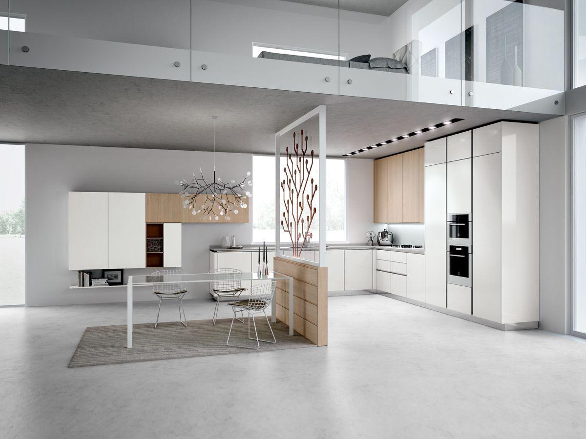 Tecnika Pura linea quattro | Flats&Lofts | Pinterest | Arredamento ...