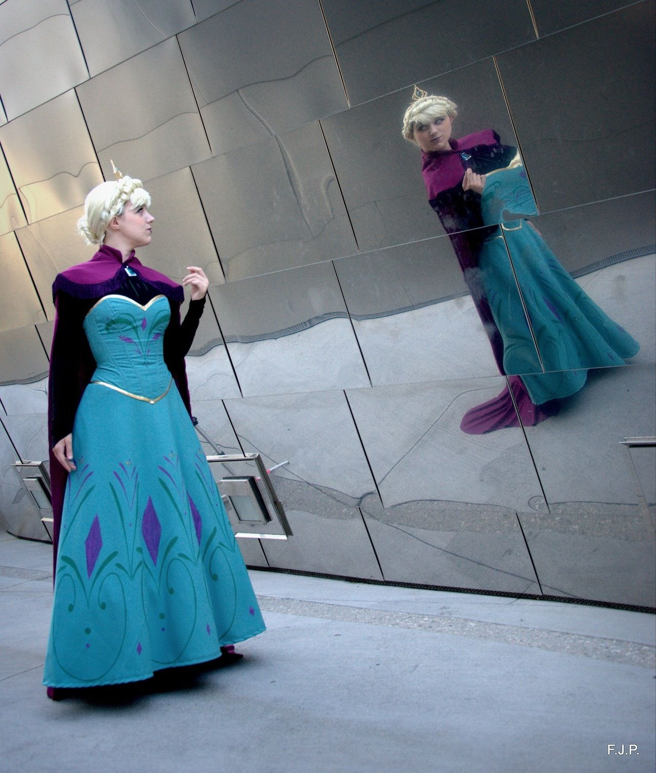 Elsa from Frozen worn by Angi Viper  sc 1 st  Pinterest & Elsa from Frozen worn by Angi Viper | ? Frozen ? | Pinterest ...