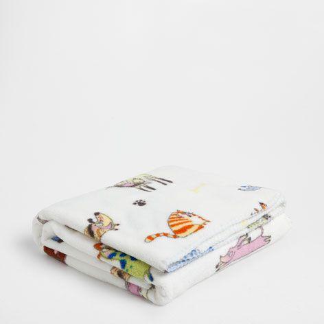 Deken Met Dierenprint.Deken Met Dierenprint Dekens Bed Zara Home Netherlands