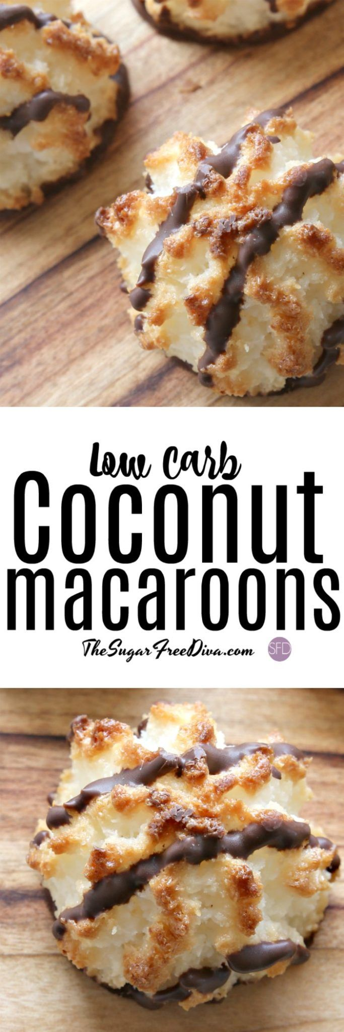 Coconut Macaroons that are also low carb