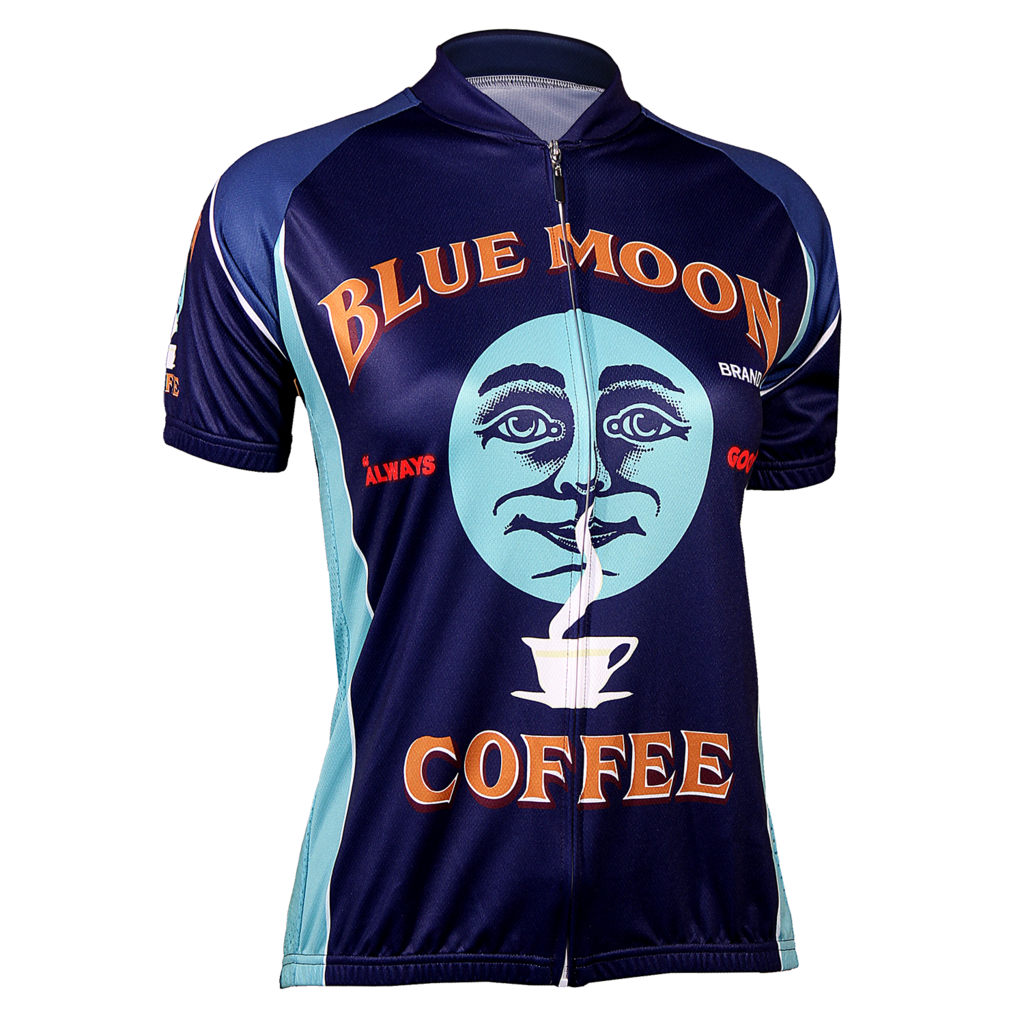 Blue Moon Coffee Women's Jersey - FREE Shipping on great cycling jerseys at cyclegarb.com