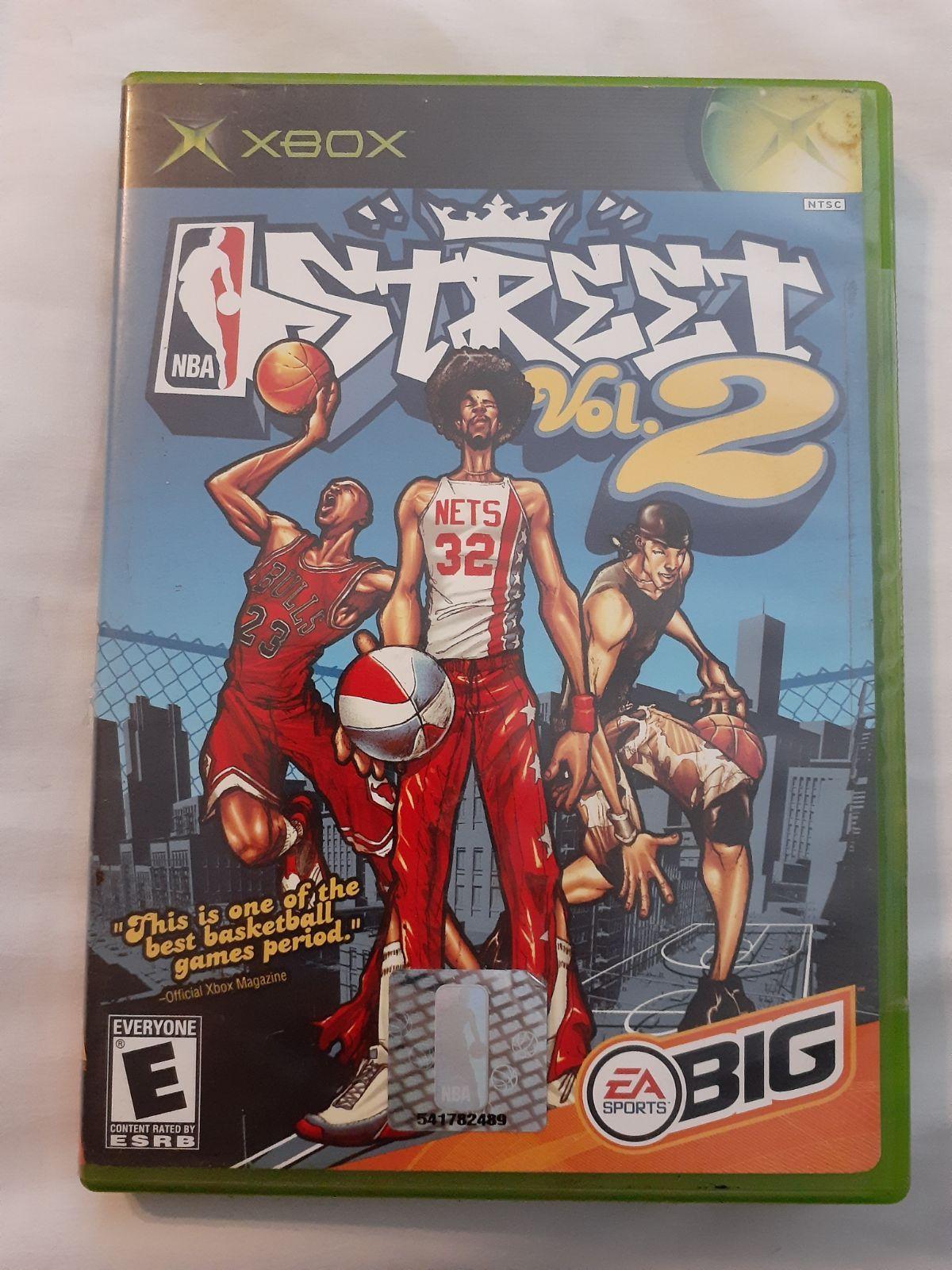 NBA Street Vol. 2 for Xbox in 2020 Original xbox