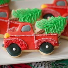 Truck with Tree Cookie Cutter $2.50 http://www.fancyflours.com/product/Cookie-Cutter-Truck-with-Tree/Shop-by-Christmas-party-theme