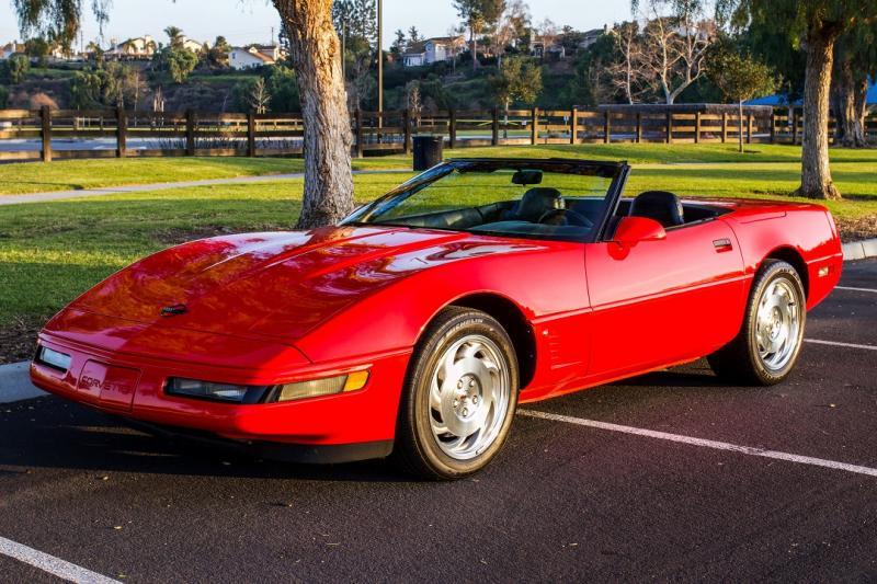 1995 Corvette Convertible For Sale In California Ncrs Top Flight Corvette Convertible Corvette Convertible Corvette Red Corvette