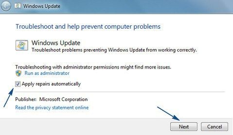 Fix failure configuraing windows updates Reverting changes, Do not - privacy statement
