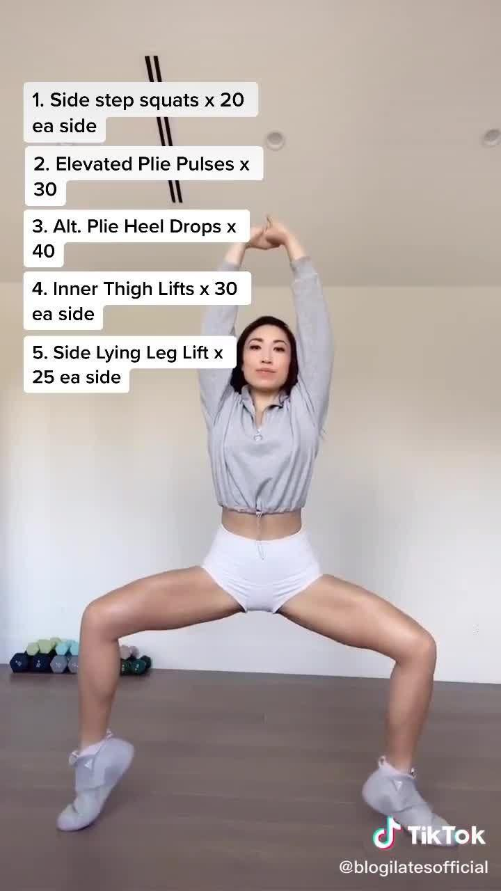 Skinny Thighs Challenge in 30 Days!