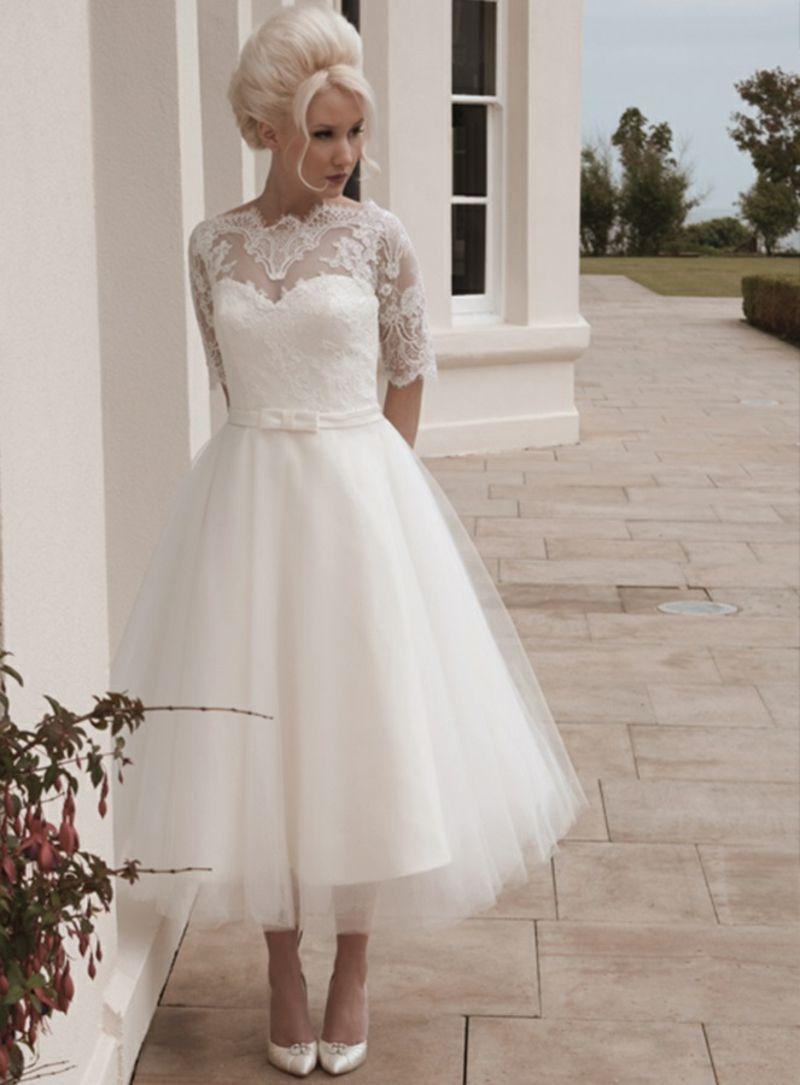 Das schönste Standesamt Kleid aussuchen: So fällt die Wahl