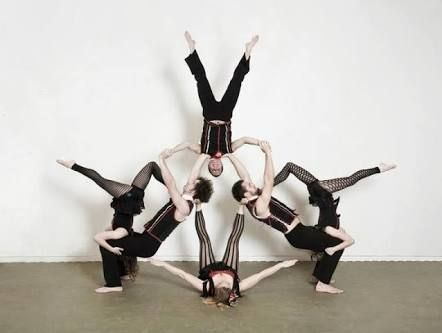 image result for group acro stunt  acro dance group yoga
