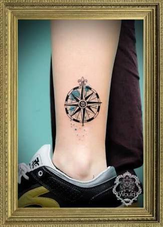 Resultado de imagen para brujula tattoo tumblr