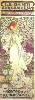 Coleccionista de Imagenes: Art Nouveau, Alfons Mucha y Sarah Bernhardt
