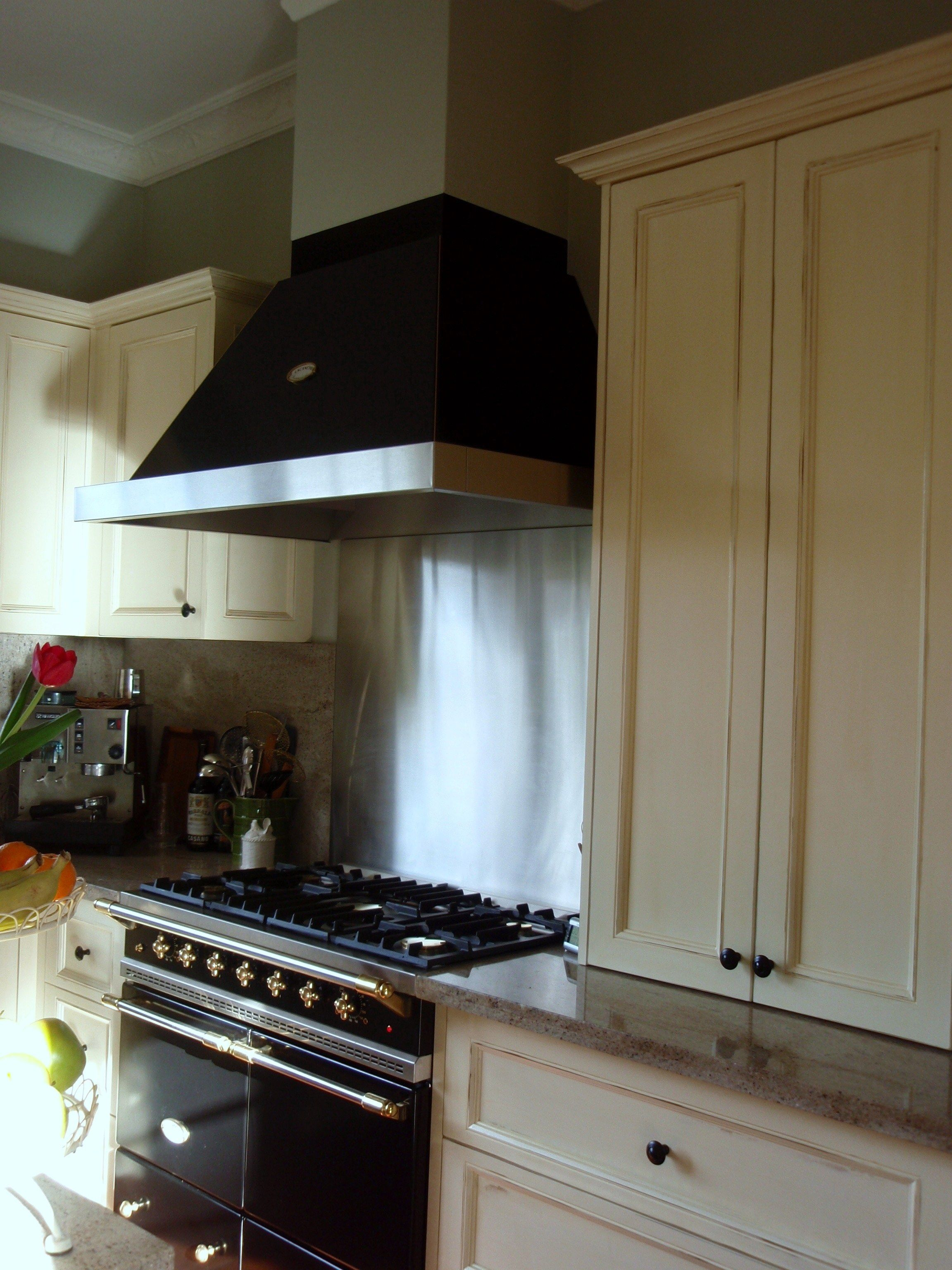 Lacanche Rangehood And Bulkhead Kitchen Design Bronze Kitchen Hardware New Kitchen