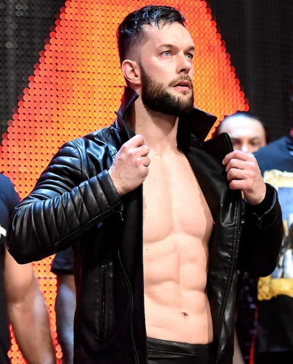WWE Finn Balor Leather Jacket (2) | Finn Balor Leather