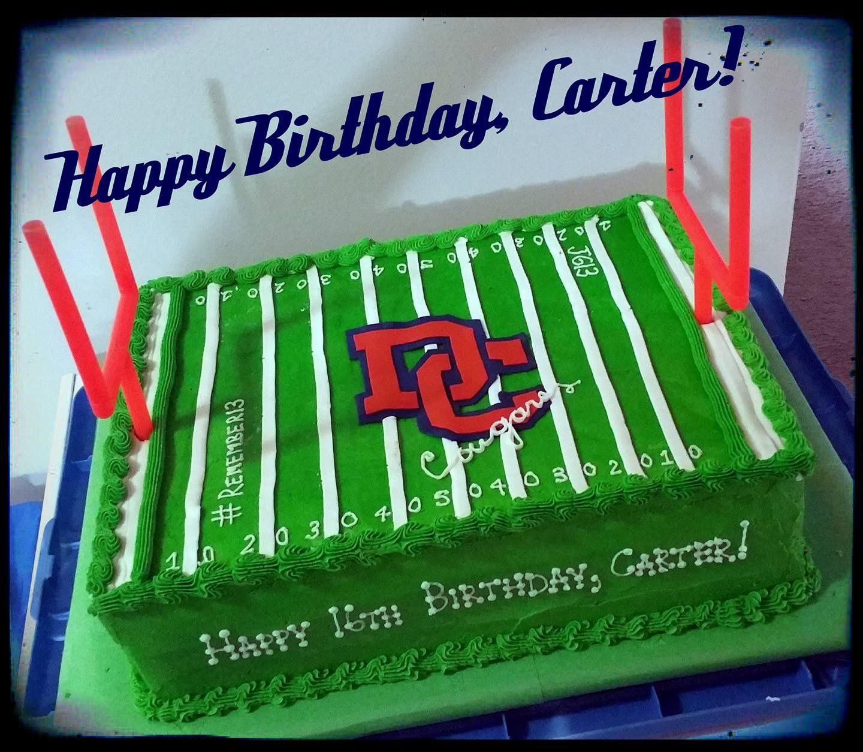 Dickson county cougars football cake football cake cake