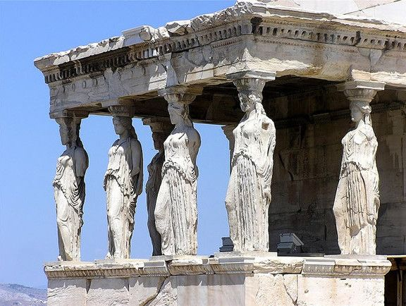 Loggetta delle Cariatidi, Eretteo, Philokles, 421 - 404, marmo.