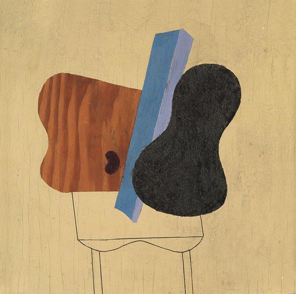 Albert Eugene Gallatin (1881–1952) No. 15 (Abstract Composition), 1940