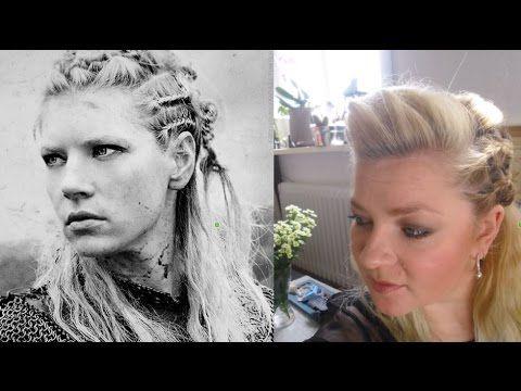 Viking Lagertha Hair Tutorial Ready To Go Haar