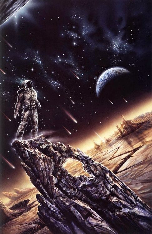 Ron Walotsky - Destiny's End, 1988.