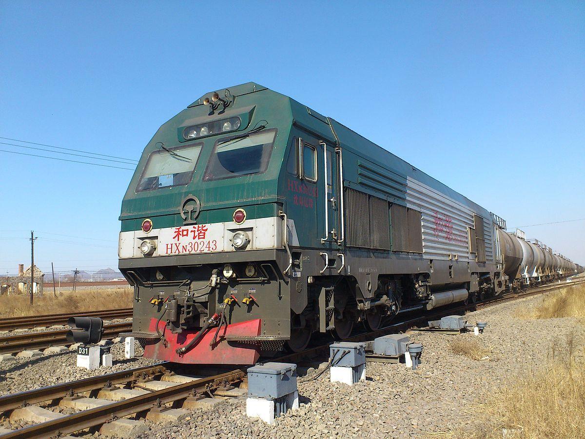JT56ACe)  China Railways HXN3  is a 6000 horsepower diesel